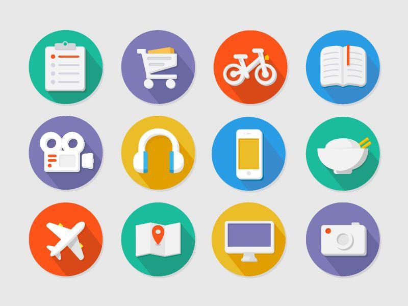 More Flat Icons Flat Icon Icon Icon Design