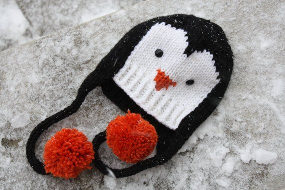 Penguin Knitting Patterns Penguin Hat Knitting Patterns And Penguins