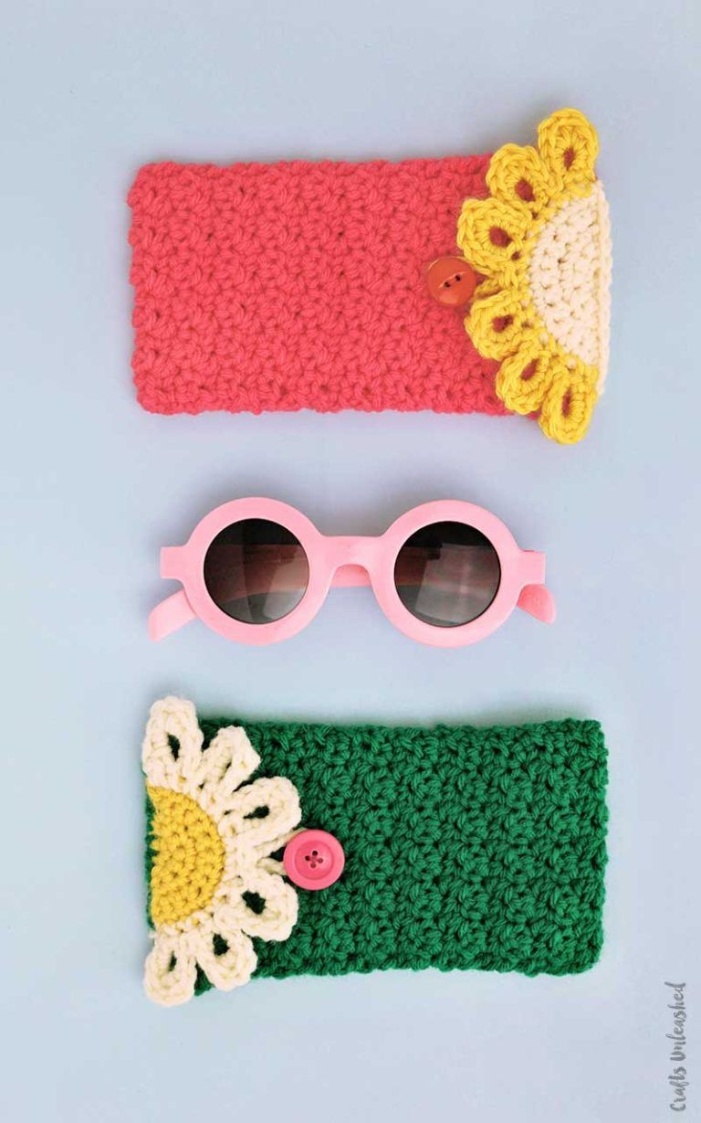 Crochet Pouch Pattern For Your Glasses - Consumer Crafts