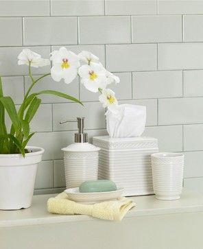 Martha stewart collection trousseau bath accessories macy 39 s traditional bath and spa Martha stewart bathroom collection