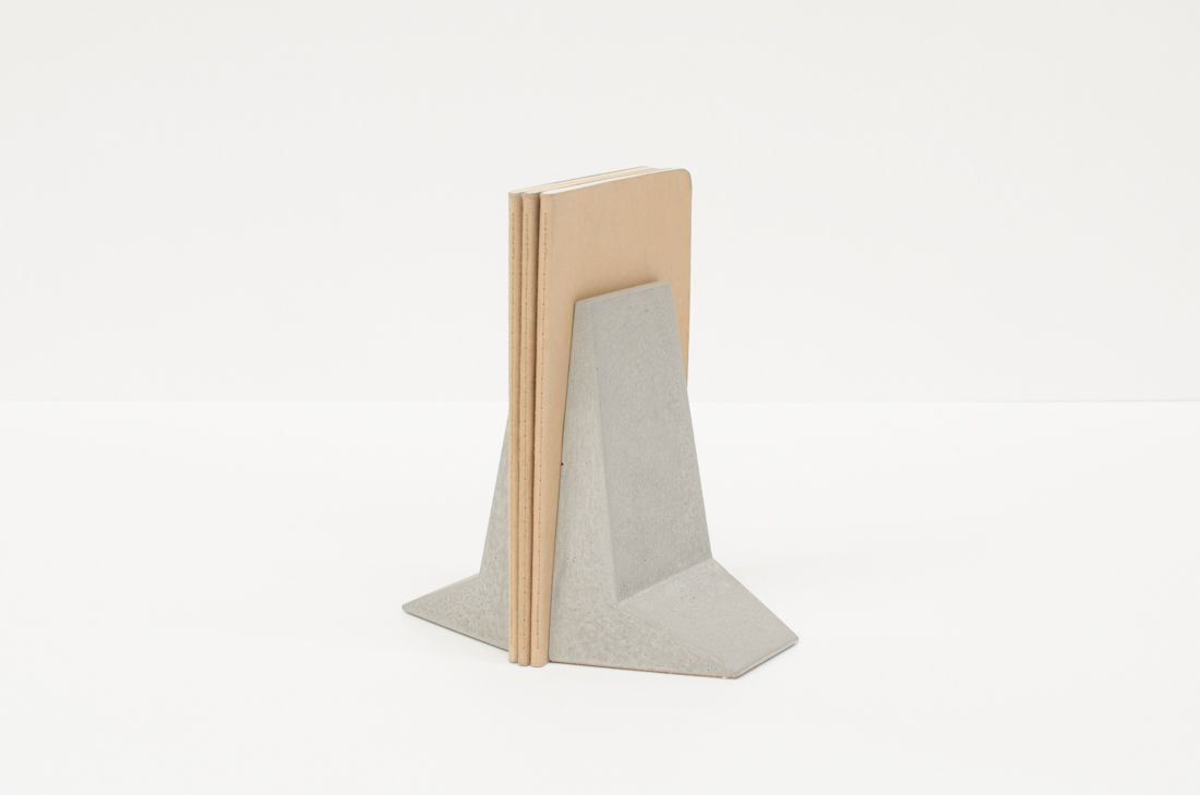 Steeple Concrete Bookends Made In Australia Mjp Studio Bookends Steeple Architectural Influence