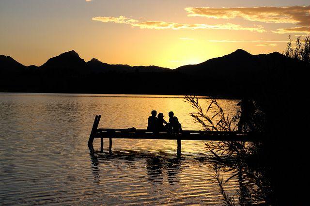 Sonnenuntergang am Hopfensee | Flickr - Photo Sharing!