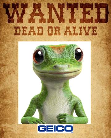 Geico Gecko Died 13 Brilliant Ways To Advertise Geico Gecko Died Gecko Geico Death In Paradise