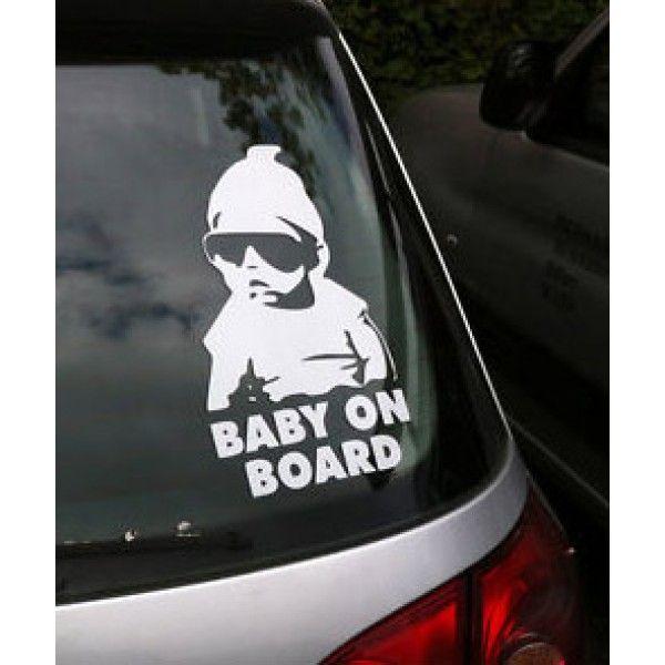 Car Window Stickers, Funny Stickers, Car