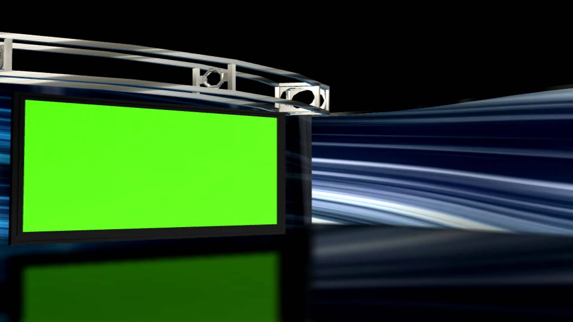 Hd Virtual Studio Set Background 1 With Green Screen Tv Set Virtual Studio Chroma Key Chroma Key Backgrounds