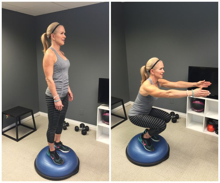 Bosu Ball Ankle Exercises: 5 Exercises For Better Balance