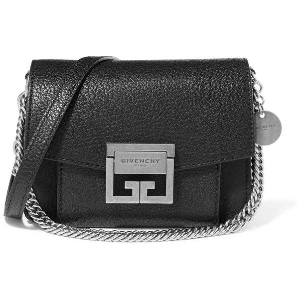 Gv3 Mini Textured-leather Shoulder Bag - Black Givenchy Outlet Explore Buy Online Cheap Price Geniue Stockist Cheap Original Outlet For Cheap tDEjb