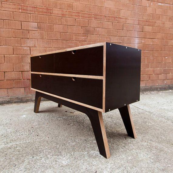 Mesa de tocador aparador con cajones de cierre suave por for Muebles oficina baratos liquidacion por cierre
