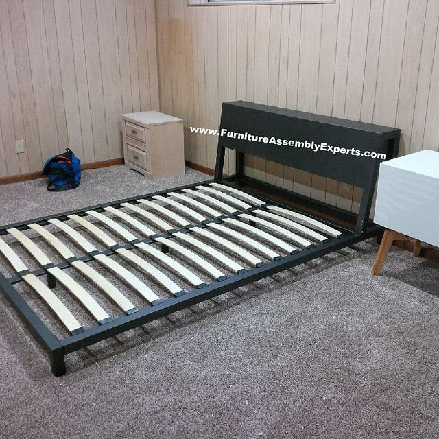 cb2 alpine metal frames bed assembled in mclean va by furniture assembly experts llc call