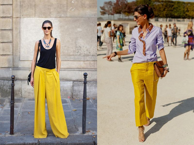 The Lady Of Lovely Smile: Inspiration: Yellow