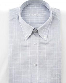 88e9c4bbfb8b Landini καρό button down πουκάμισο classic fit