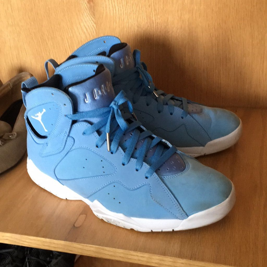 brand new 4af2f 42e7f Jordan Shoes | Jordan 7 | Color: Blue | Size: 11 | Products ...