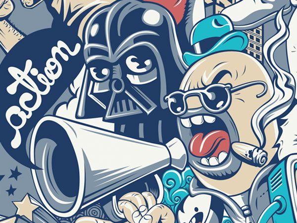 Vox Populi T-shirt on the Behance Network