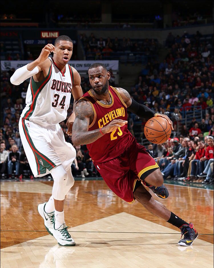 Nba Picks Nuggets And Lakers Game 7 Odds And Betting: LeBron Drives Past Giannis Antetokounmpo 3/22/2015. Cavs