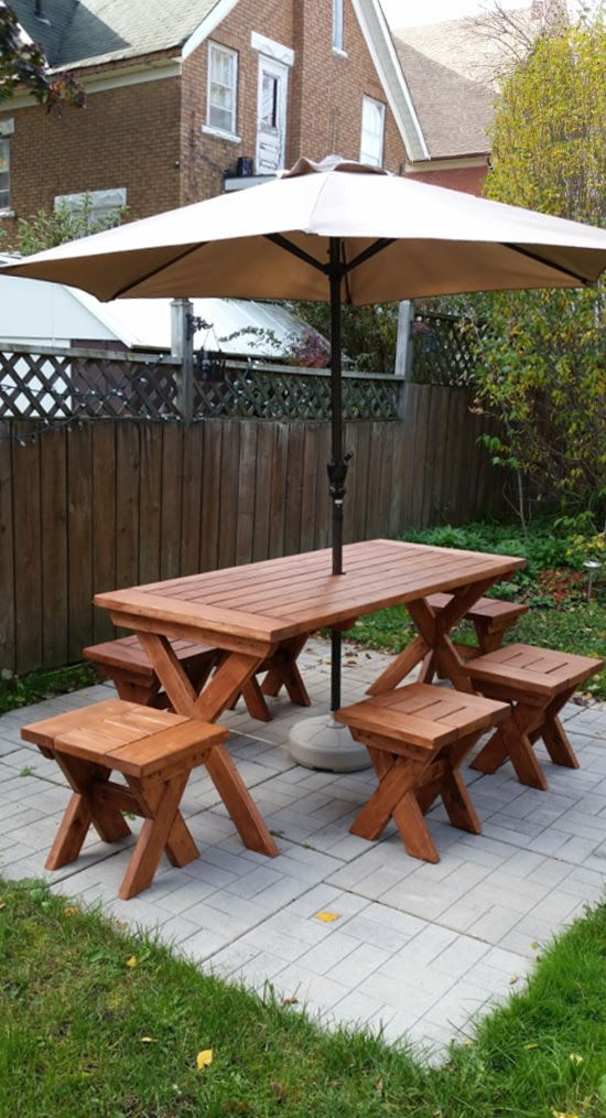 The Design Confidential Reader Showcase PotteryBarn Inspired Picnic - Pottery barn picnic table