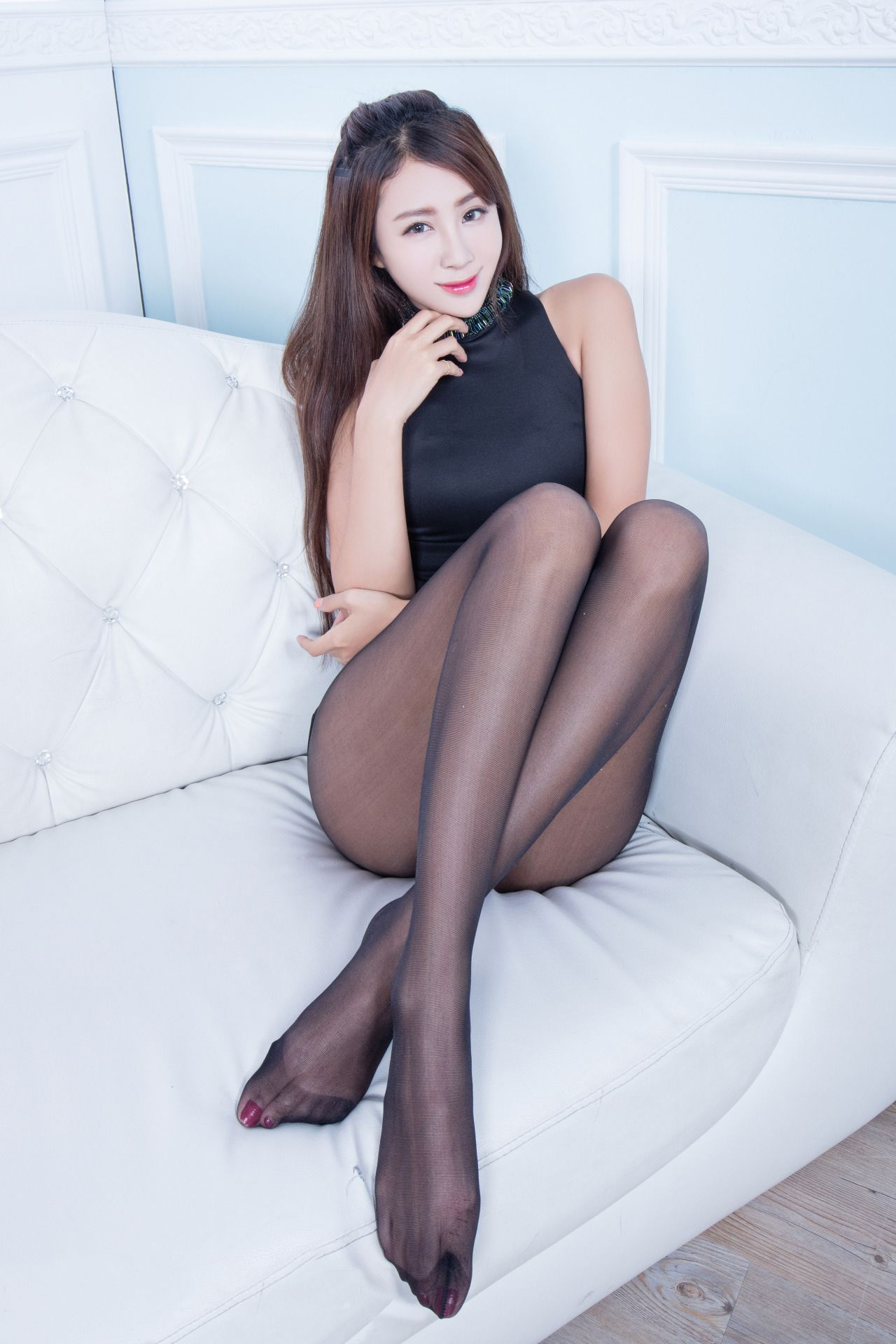 Pantyhose weed asian