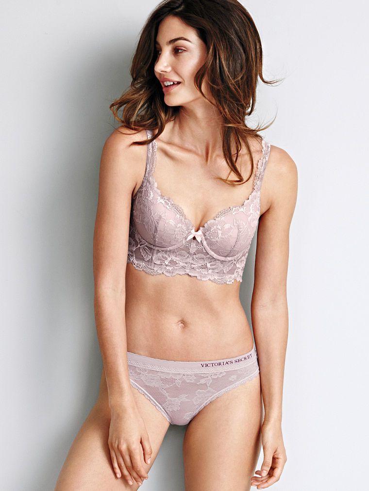 197f8bfd071e2 Long Line Demi Bra - Body by Victoria - Victoria s Secret