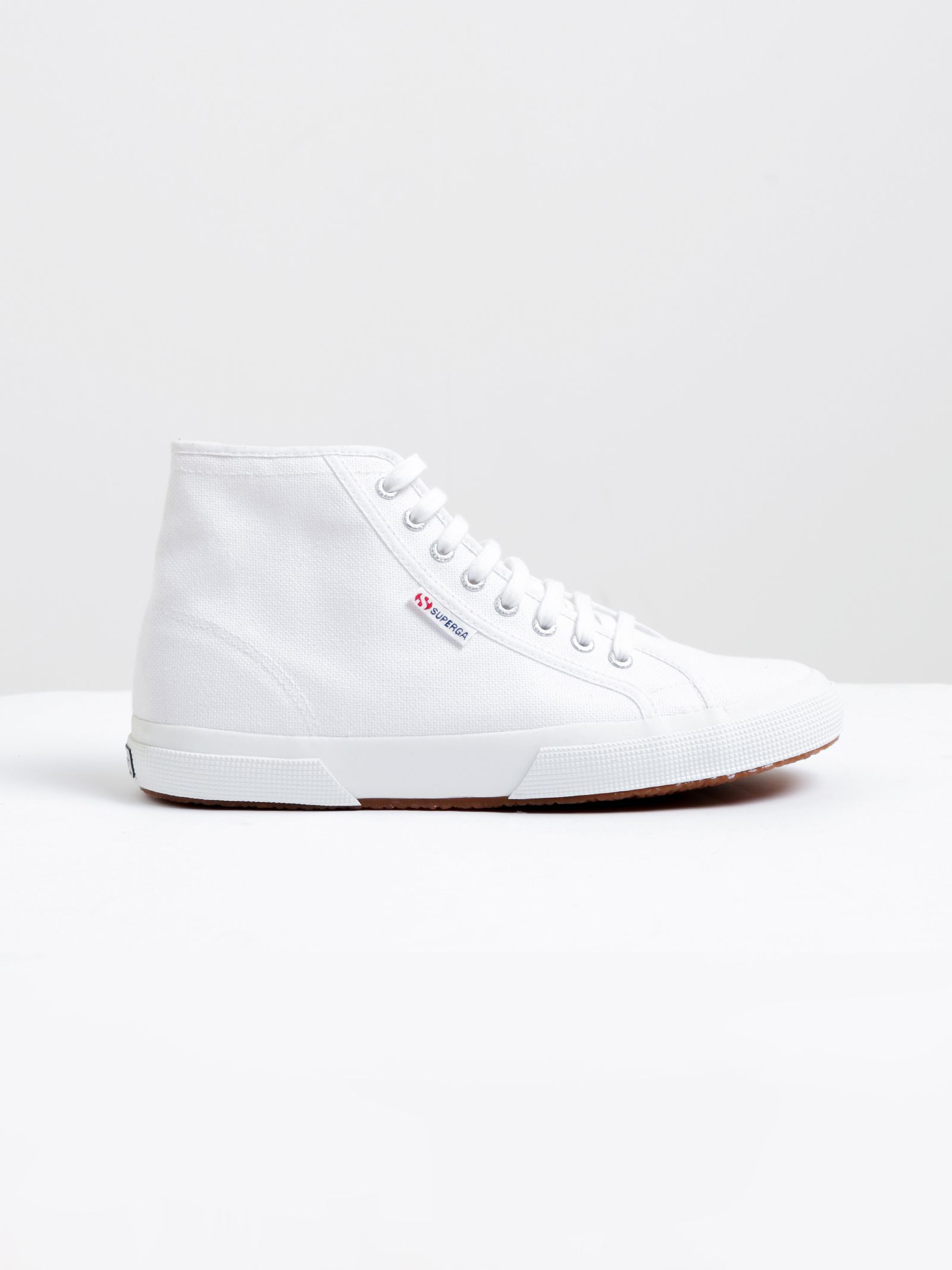 d48a74c98161 Buy Unisex 2795 Cotu Hi Top Sneakers in White by Superga of White color for  only  99.95 at Glue Store. UNISEX WHITE 2795 COTU SNEAKERS by SUPERGA KEY  ...