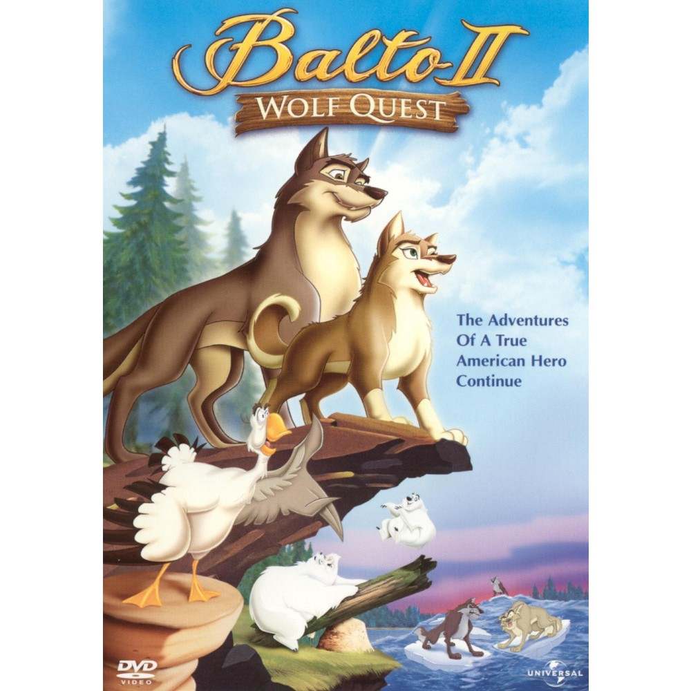 Balto Ii Wolf Quest Dvd Good Animated Movies Free Cartoon