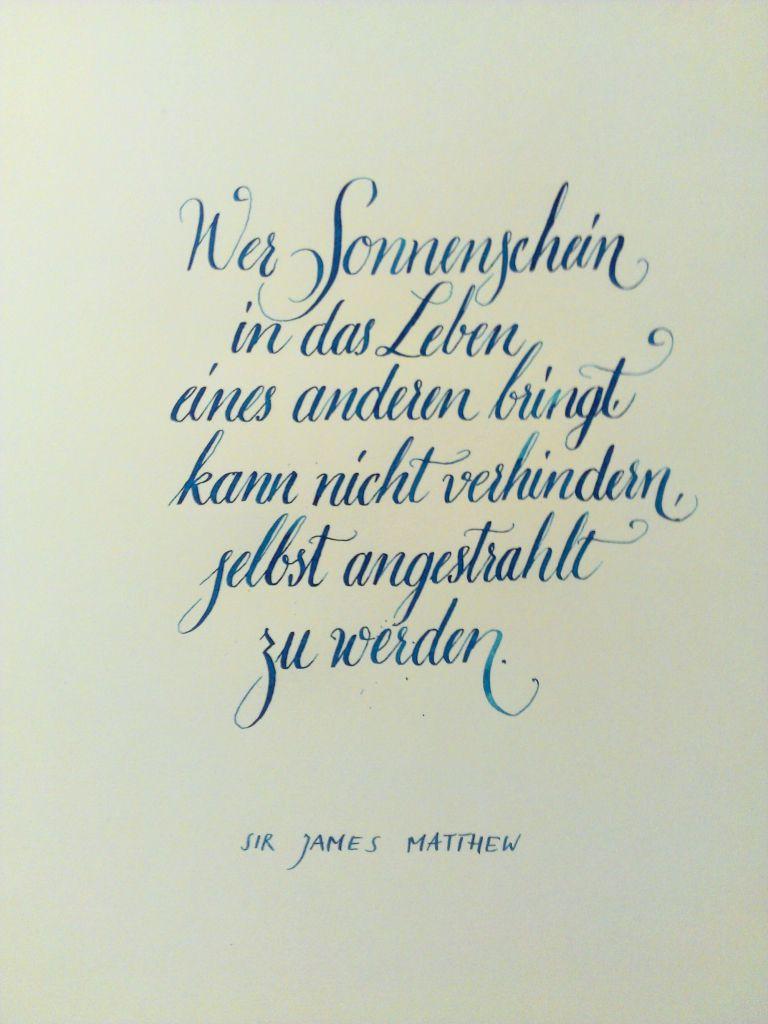 Sonnenschein Kalligraphie Zitate Sprüche Und Poesiealbum