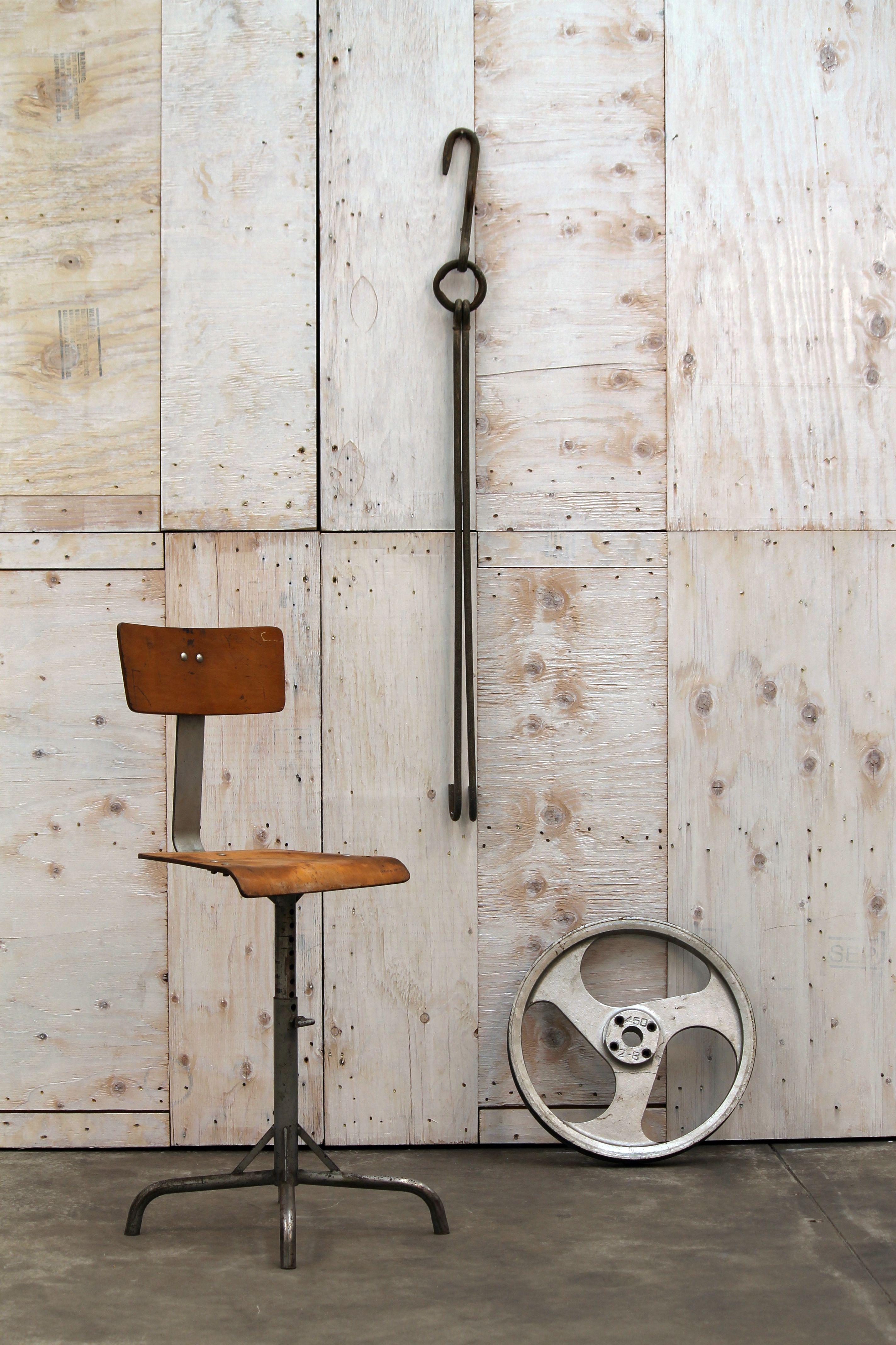 Sixties factory stool