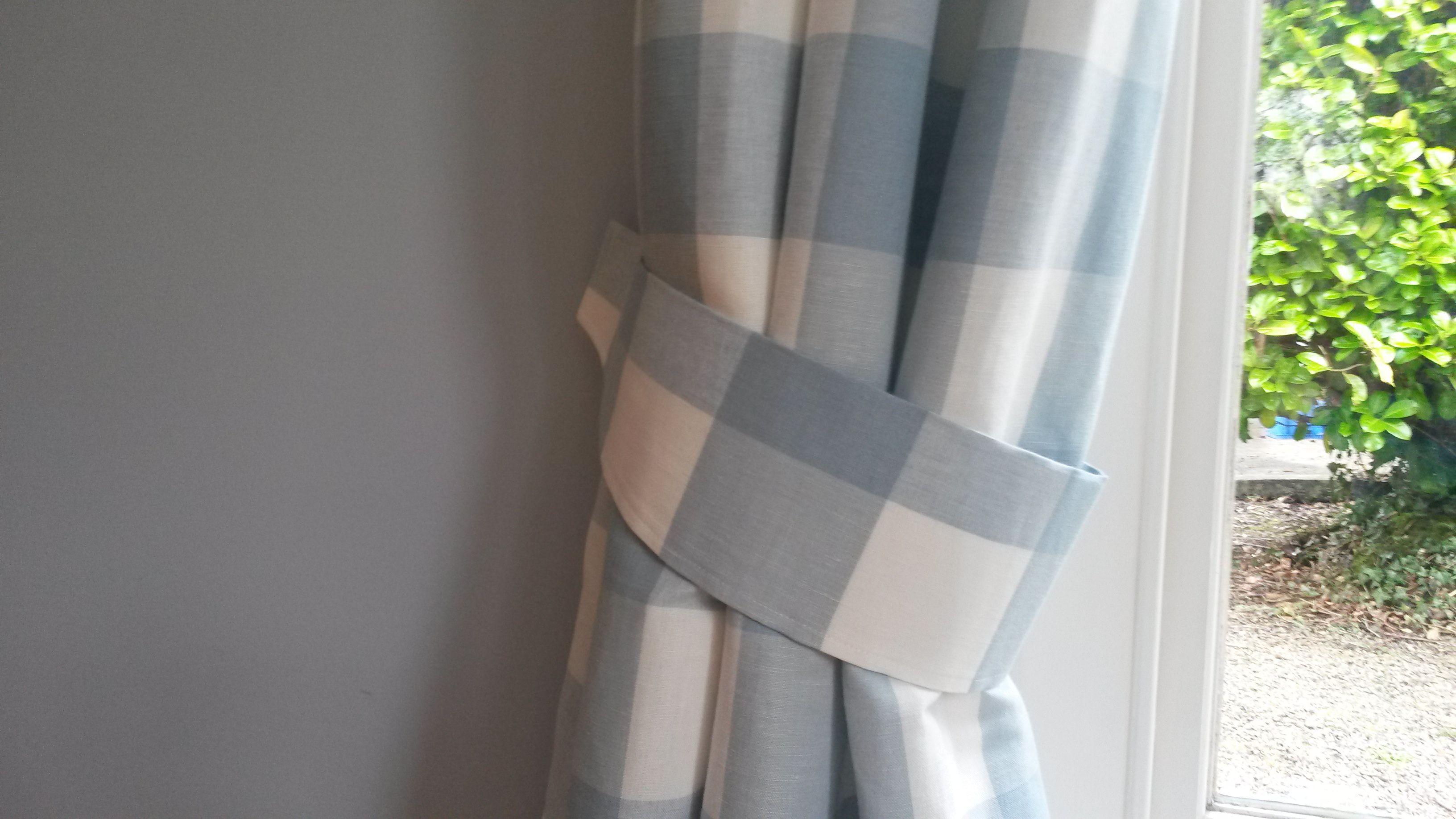 Awesome Diy Curtain Tiebacks Very Good Tutorial From