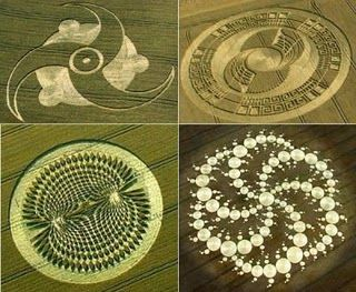 the sacred geometry of visitors... (personally, I'm skeptical that crop circles are alien artifacts...)