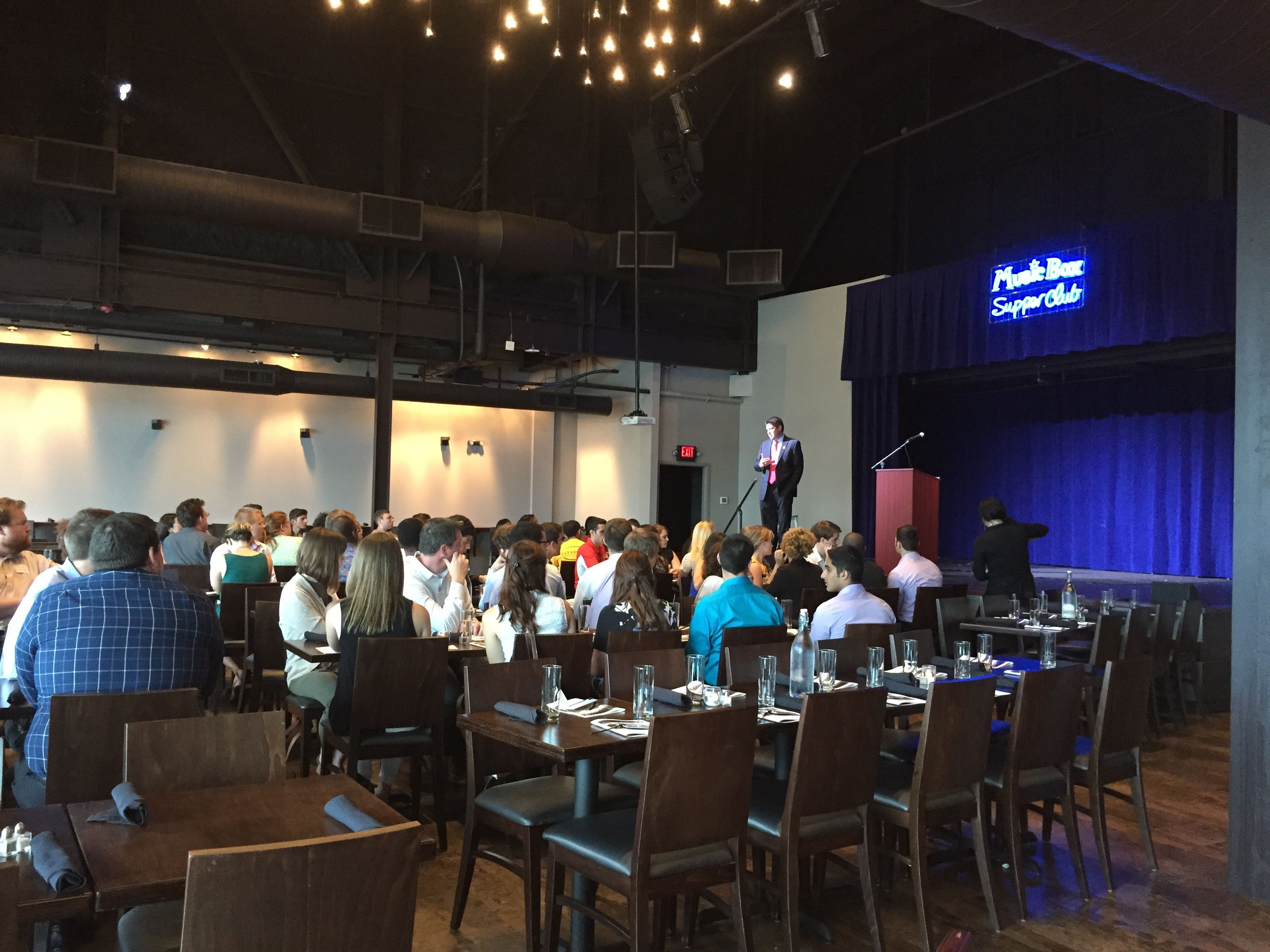 Our Event On July 29 2015 With Young Cleveland Leaders The Music Box Supper Club Rusty Anchor Corporate Events Supper Club Photo