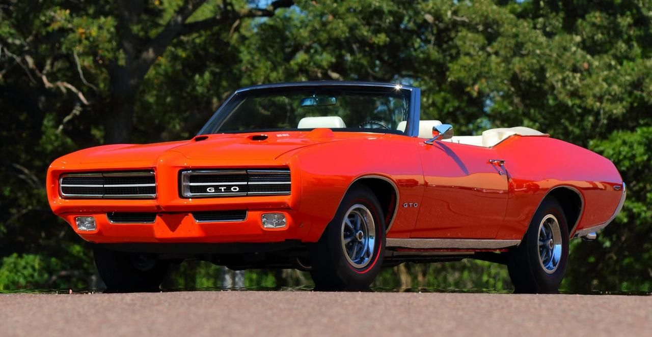 1969 RAIV GTO Convertible In Special Order Paint. 1 Of 14 With An Auto. Car  RestorationBucket SeatsPontiac ...