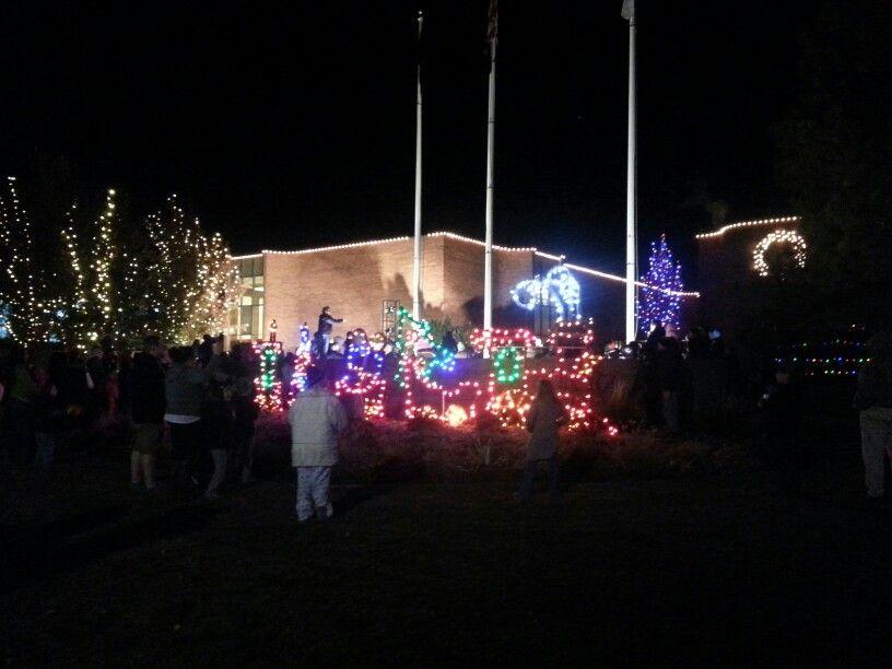 Orem City Lights On Event City Lights Utah County Utah