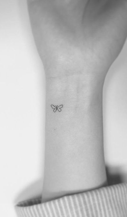 Photo of Thin, small and simple tattoos for you – Rıddlehead – # Thin #Ei …