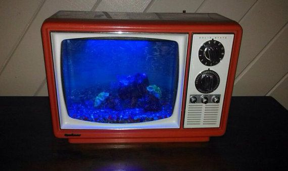 Retro+Television+Aquarium+by+H2retrO+on+Etsy,+$275.00