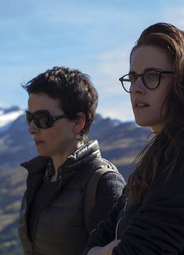 Very nice movie still ... (lol) Yes it is Juliette and Kristen in Sils Maria.