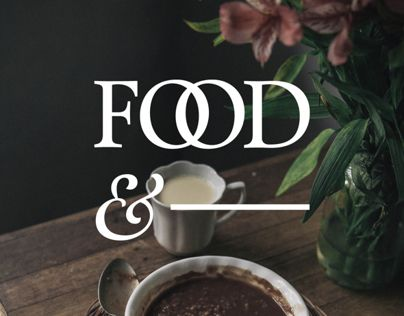 """다음 @Behance 프로젝트 확인: """"Food&"""" https://www.behance.net/gallery/10876117/Food-"""