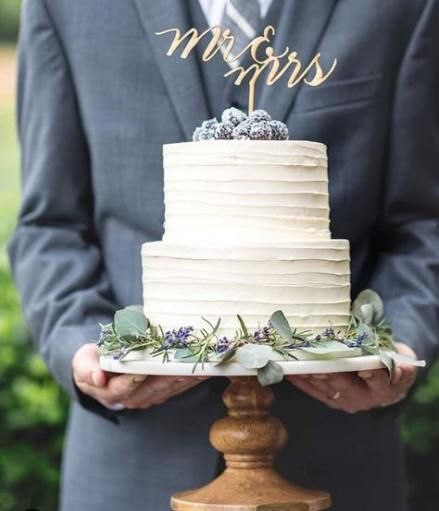 New Wedding Cakes Rustic Two Tier Simple Ideas In 2020 With