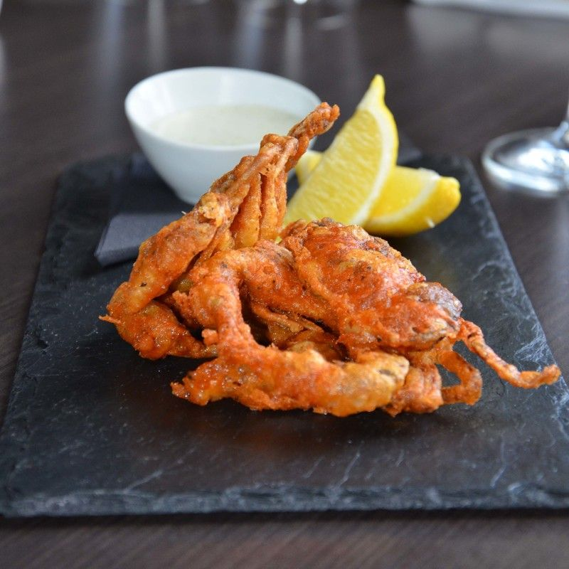 Soft Shell Crab In Tempura Batter Recipe By Jean Didier Gouges