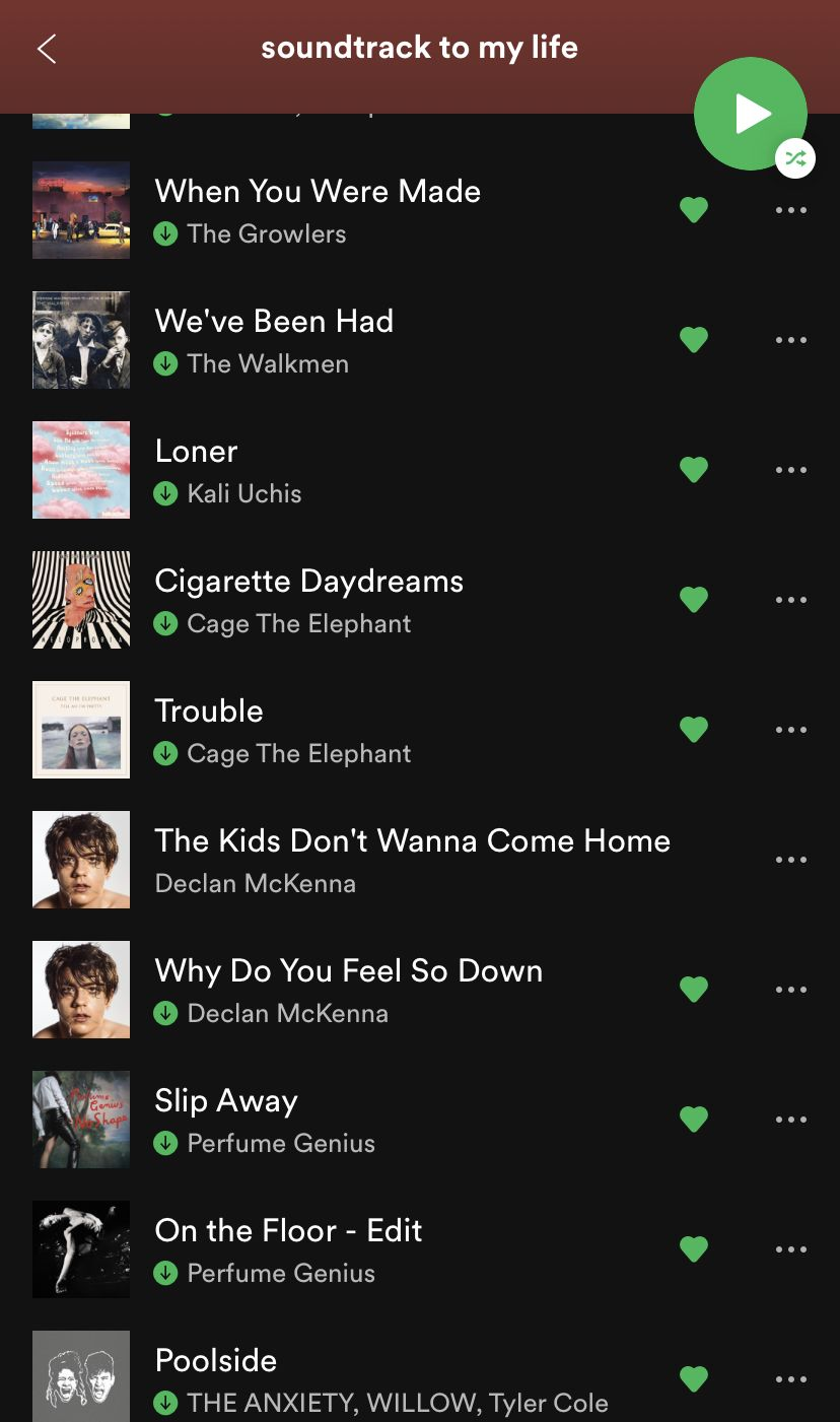 Soundtrack To My Life In 2020 Playlist Soundtrack To My Life Vibe Song