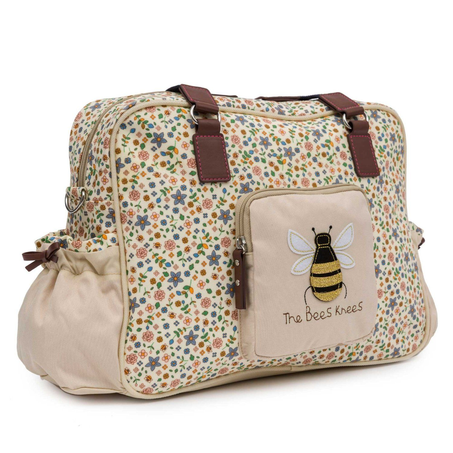 dacf309a4f Pink Lining Yummy Mummy The Bees Knees Changing Bags: Amazon.co.uk: Baby