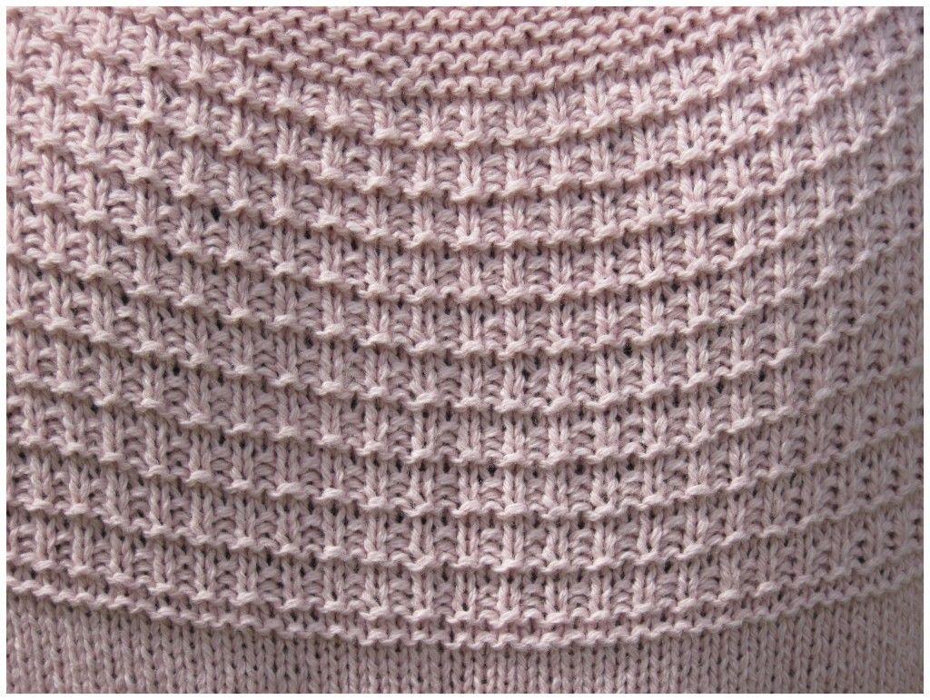 modele de point au tricot