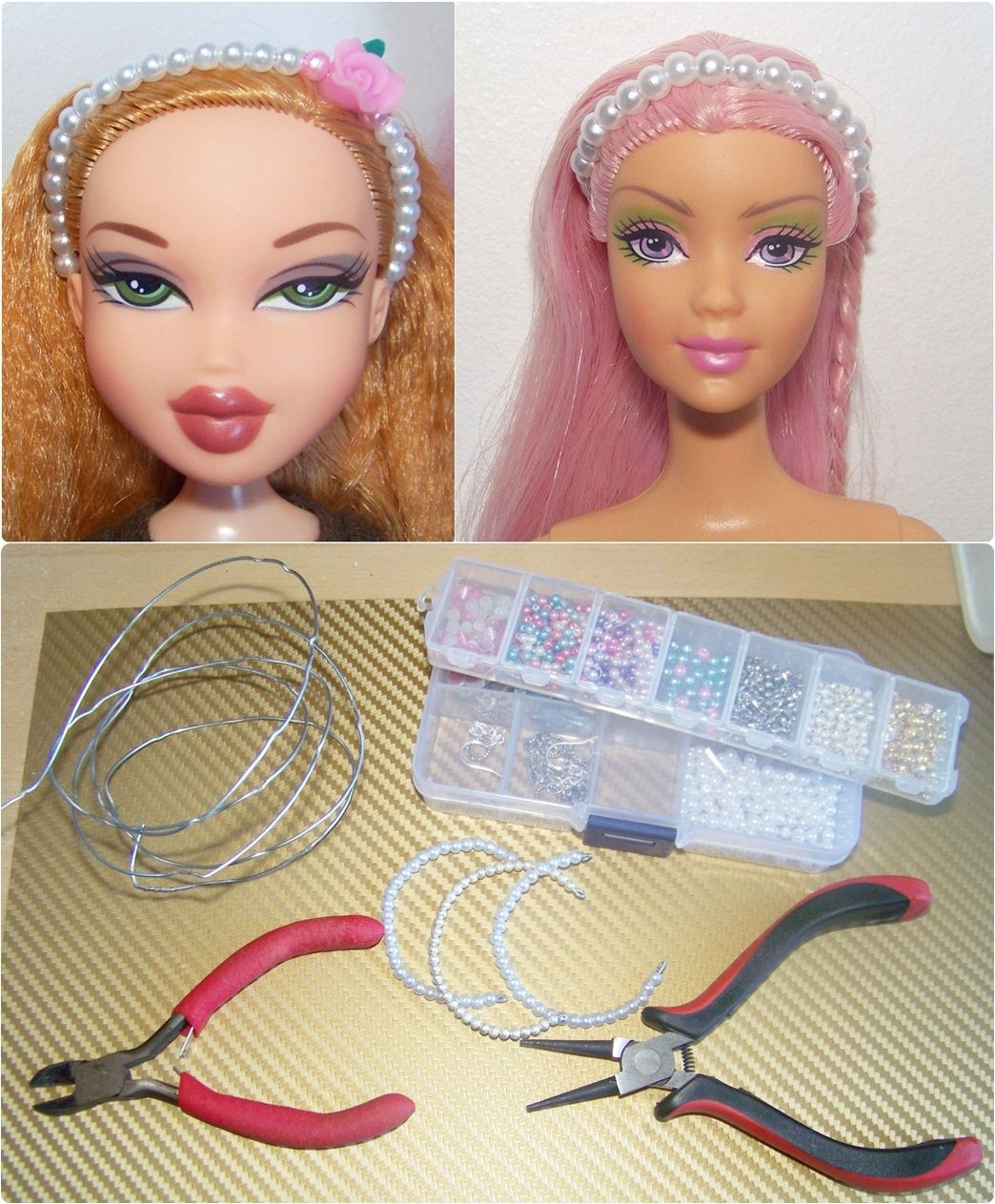 Uncategorized How To Make Barbie Doll how to make doll headbands jewelry accessories headbands