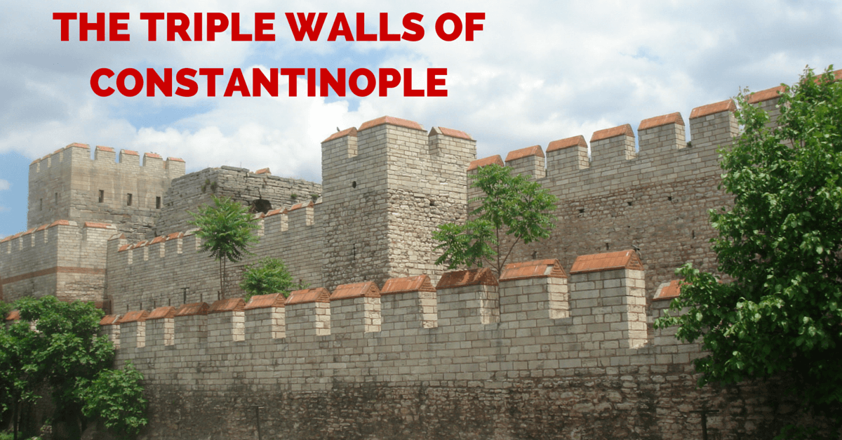 Development of the Awe-inspiring Triple Walls of Constantinople - https://www.warhistoryonline.com/war-articles/development-awe-inspiring-triple-wallsconstantinople.html