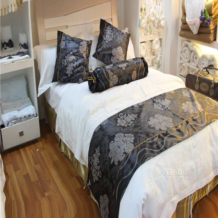 wholesale bed clothes/decorative bed runner/bed comforter