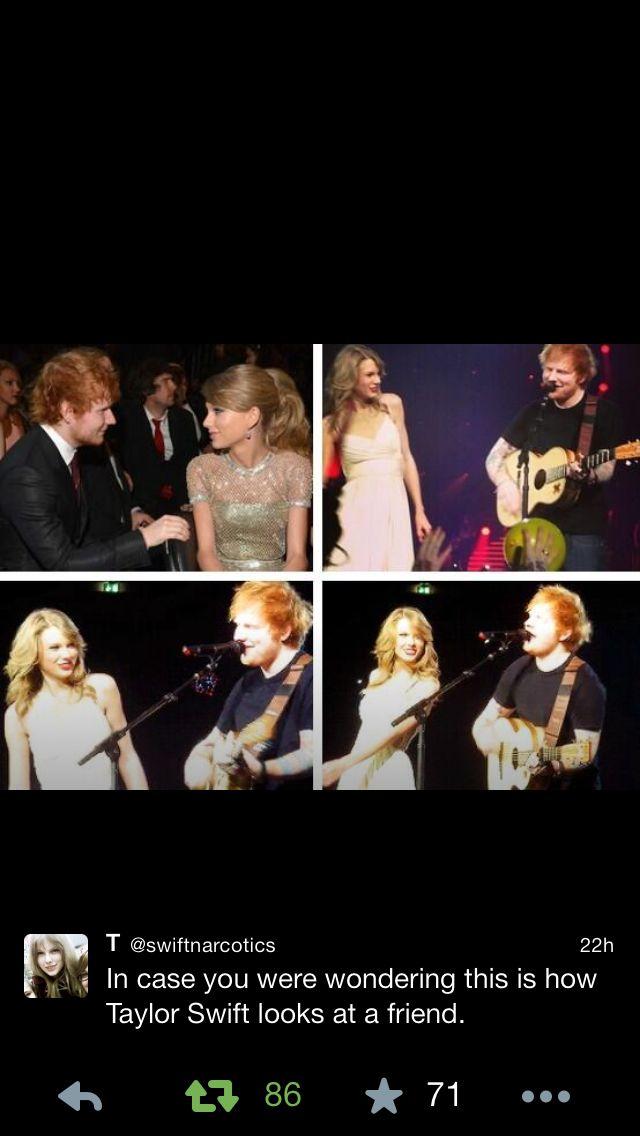Sweeran Cute Edit Taylor Swift Pictures Taylor Swift Ed Sheeran