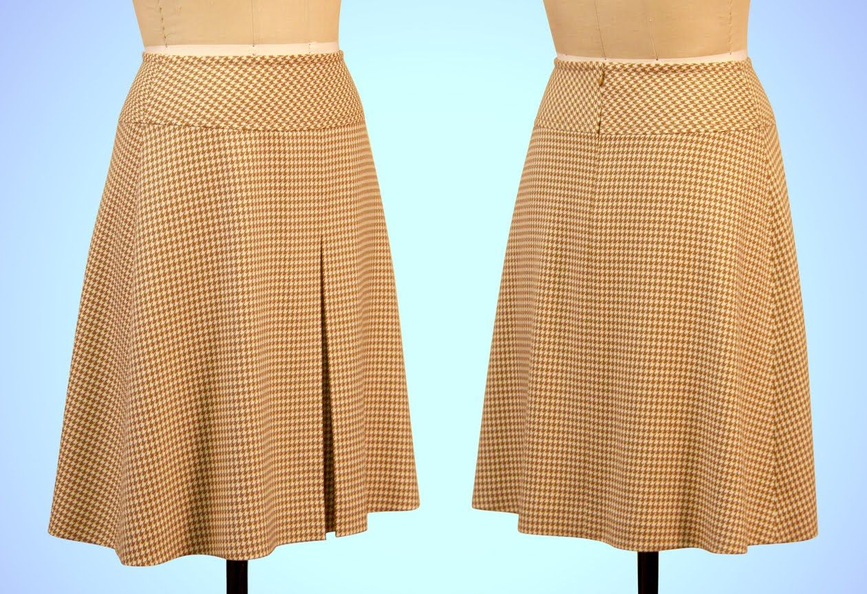 A-Line Skirt Sewing with Yoke and Box Pleat - Introduction (FREE ...