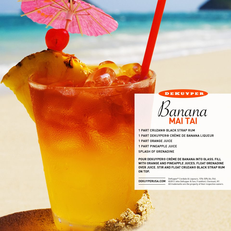 8 Tropical Island Rum Cocktails: It's The Perfect Time Of Year For A Tropical Island