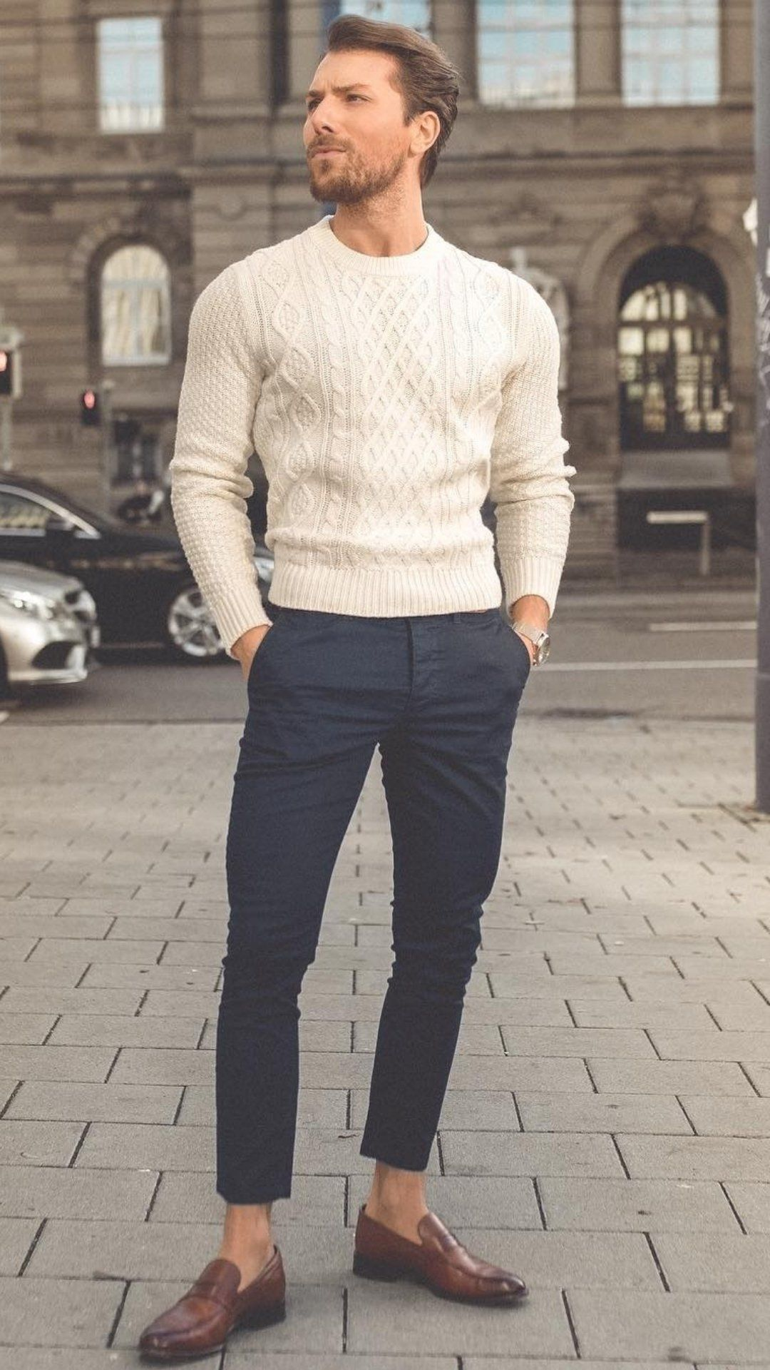 5 Cool Sweater Outfits For Men #men'sfashion