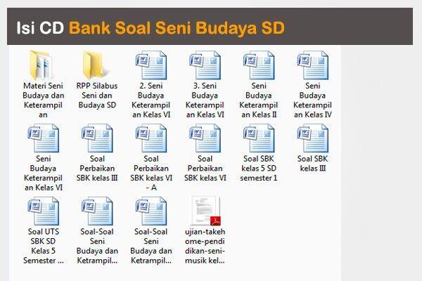 Cd bank soal seni budaya sd kelas 1 2 3 4 5 dan 6 kopi cd bank soal seni budaya sd kelas 1 2 3 4 5 ccuart Images