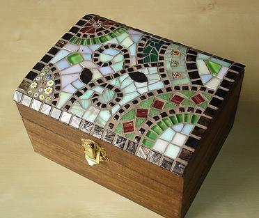 Munis Mosaics Jewellery Boxes mosaic Pinterest Mosaics Box