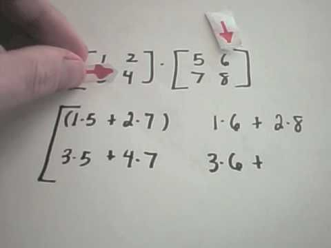 Best Explanation For Multiplying Matrices I Have Ever Seen Matrices Math College Algebra High School Math Classroom