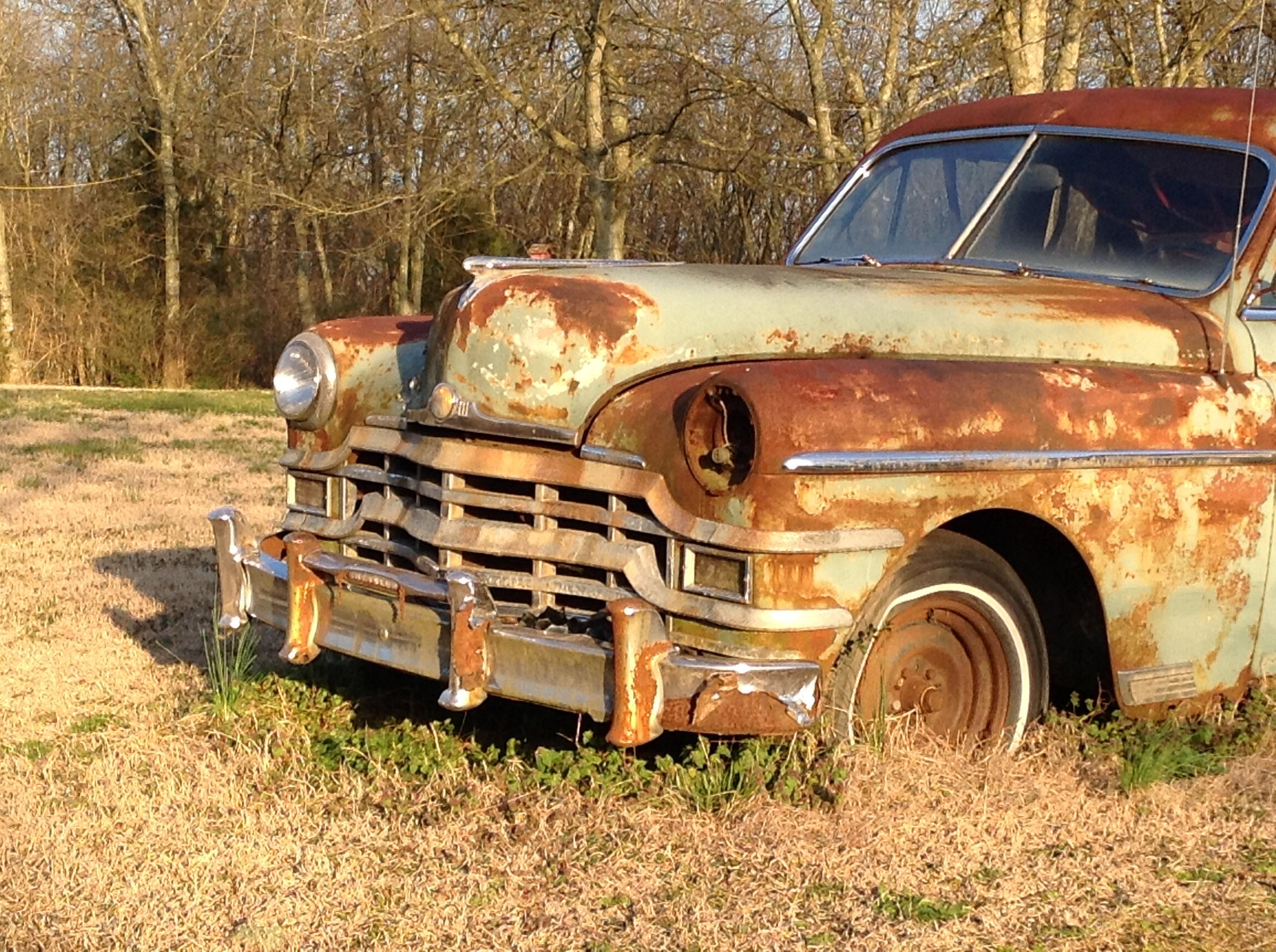 Old car in Tennessee | Rusty trucks & cars | Pinterest | Cars